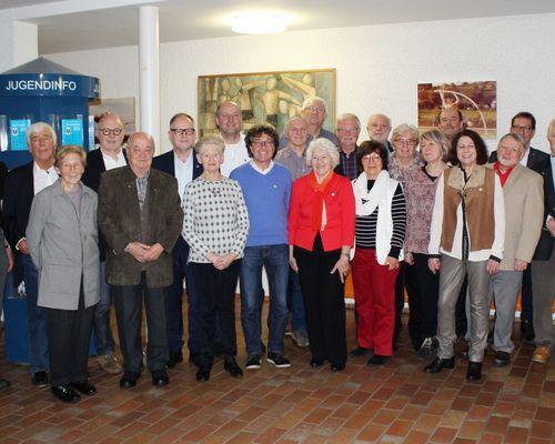 Traditionelle Ehrung langjähriger Mitglieder beim TSB Ravensburg